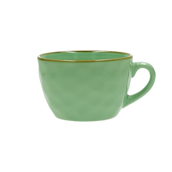 Tiffany Green Breakfast Cup