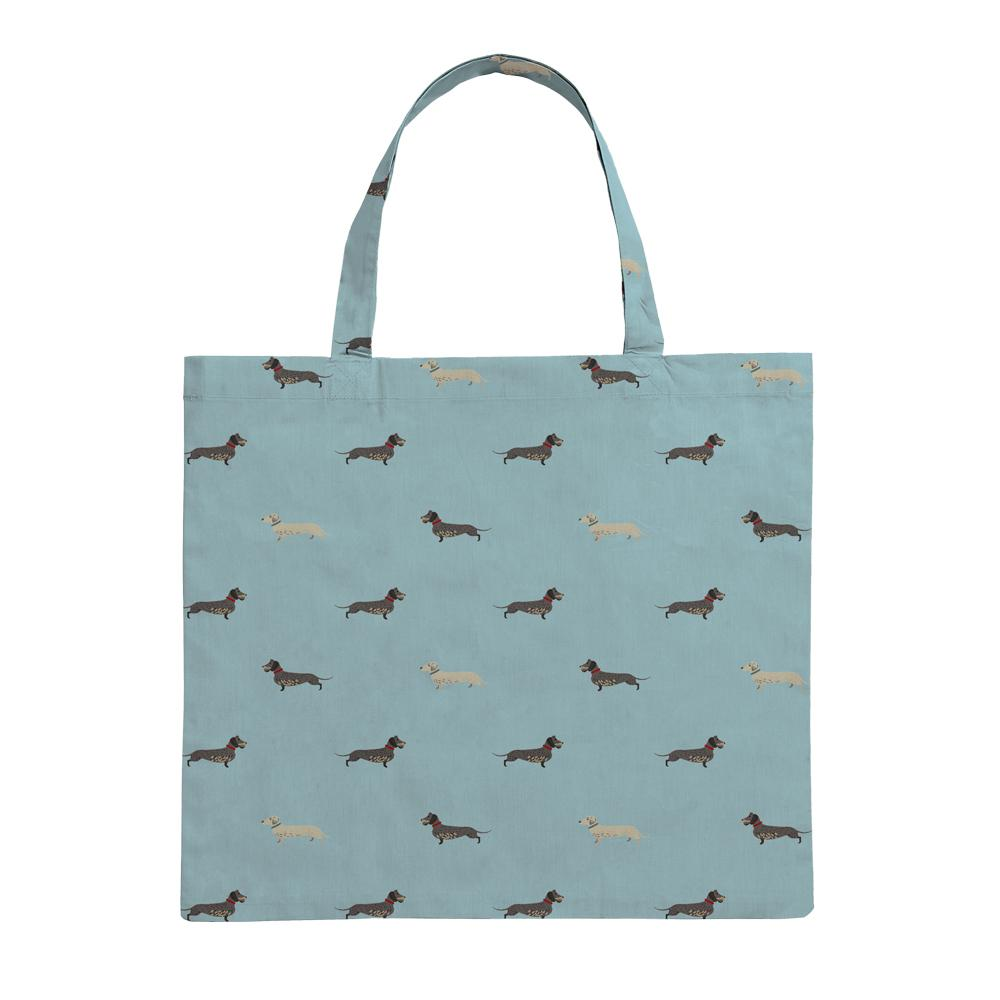 Folding Shopping Bag - Dachshund