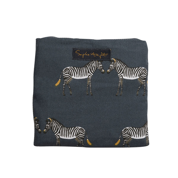 Folding Shopping Bag - Zebra