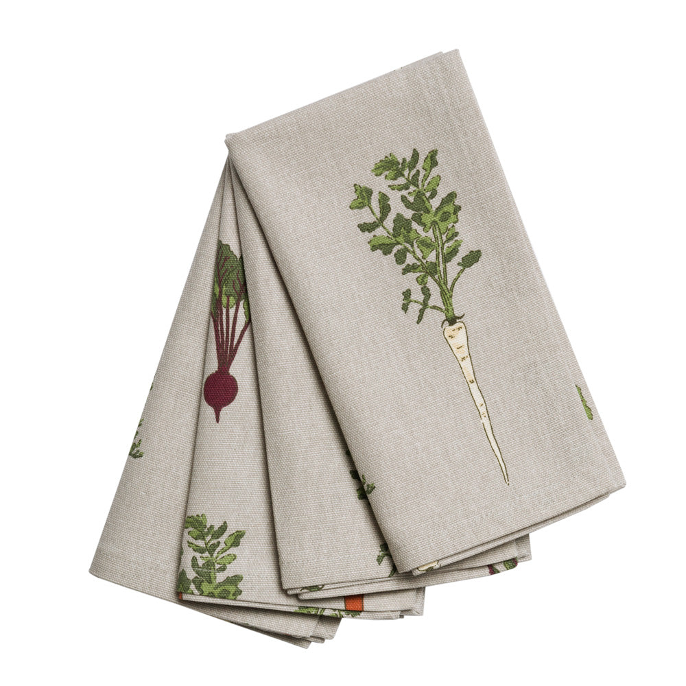 Set of 4 Home Grown Napkins