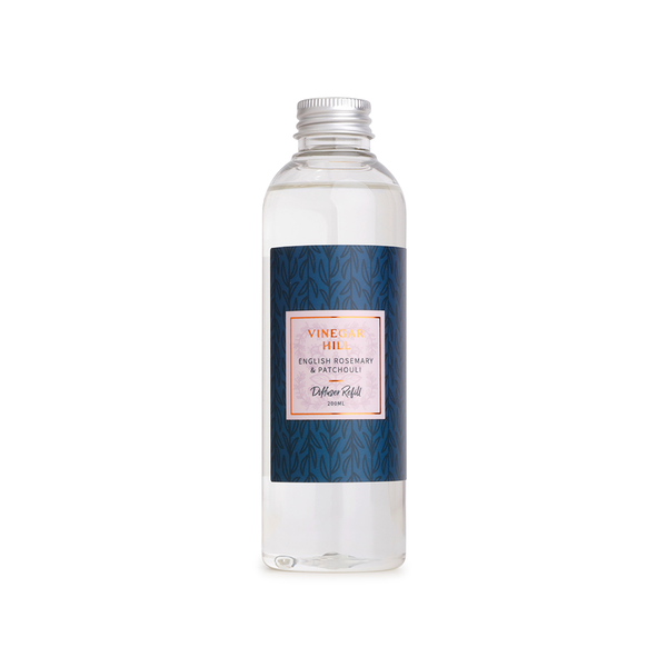 English Rosemary & Patchouli Reed Diffuser Refill 200ml