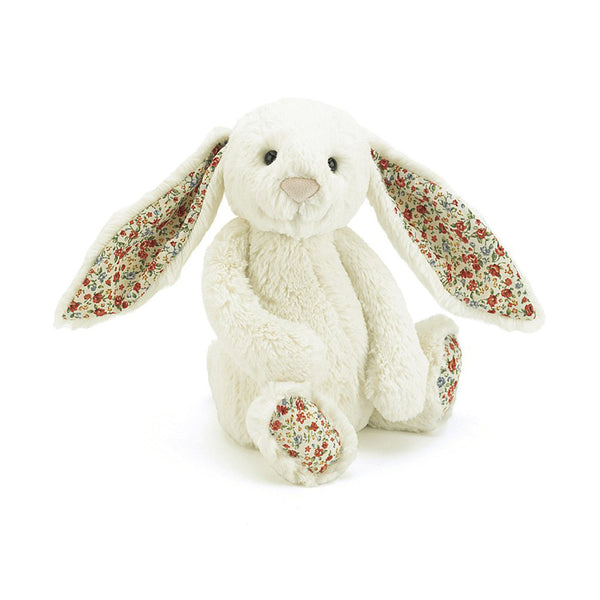 Jellycat Medium Blossom Cream Bunny Soft Toy