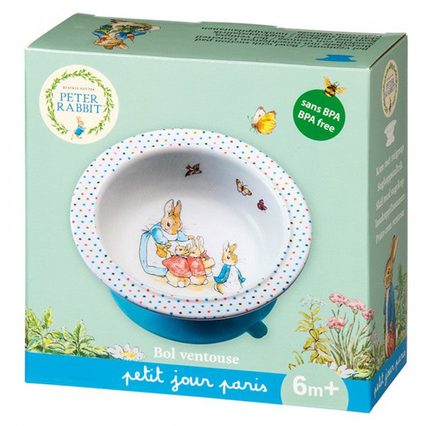 Peter Rabbit Bowl with Suction Pad