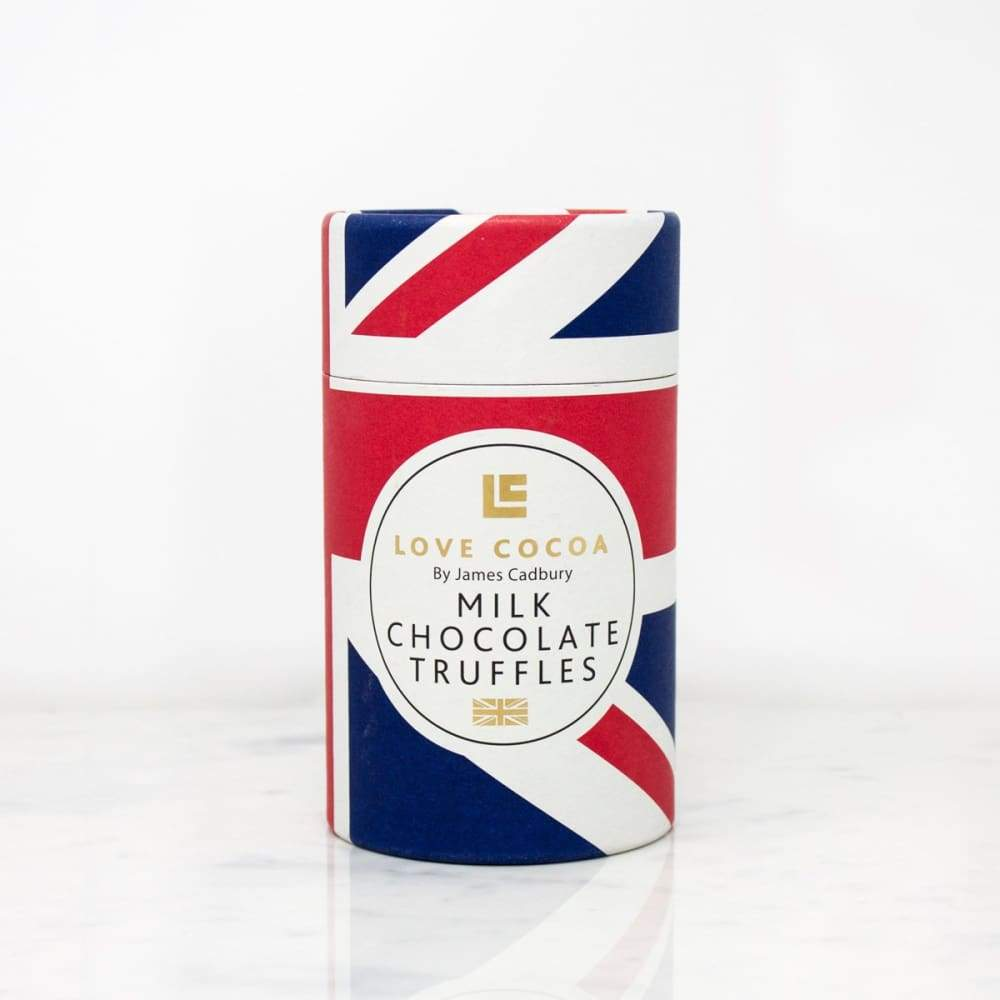 British Milk Choc Truffles Tube