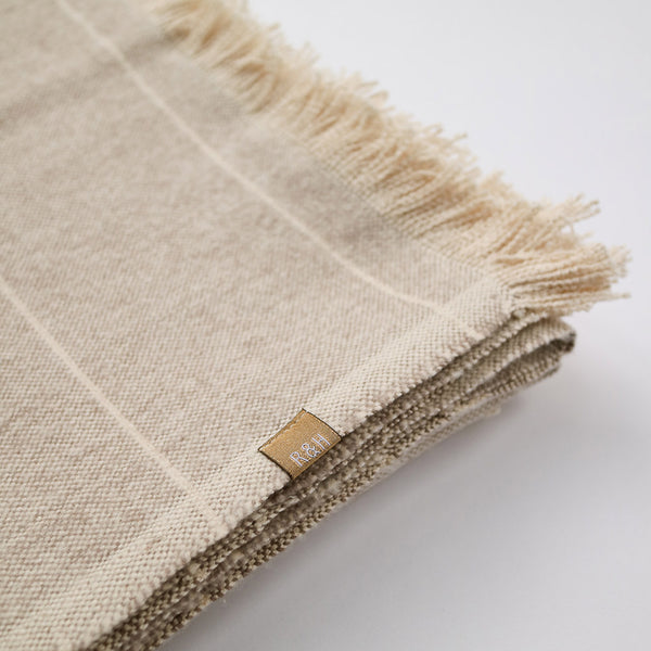 Raine & Humble Brushed Wild Stripe Throw