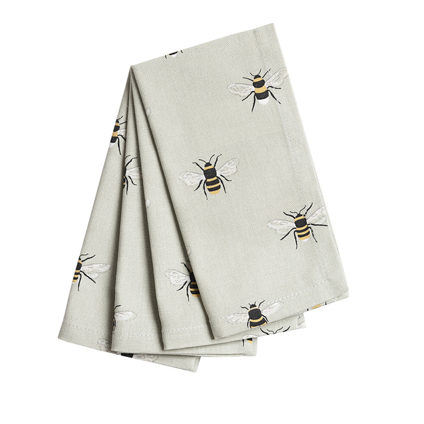 Bees Napkins set of 4