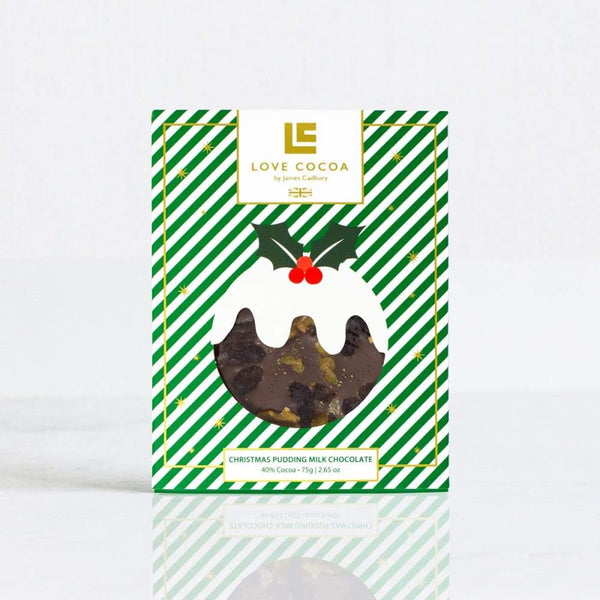 Christmas Pudding Milk Chocolate Bar
