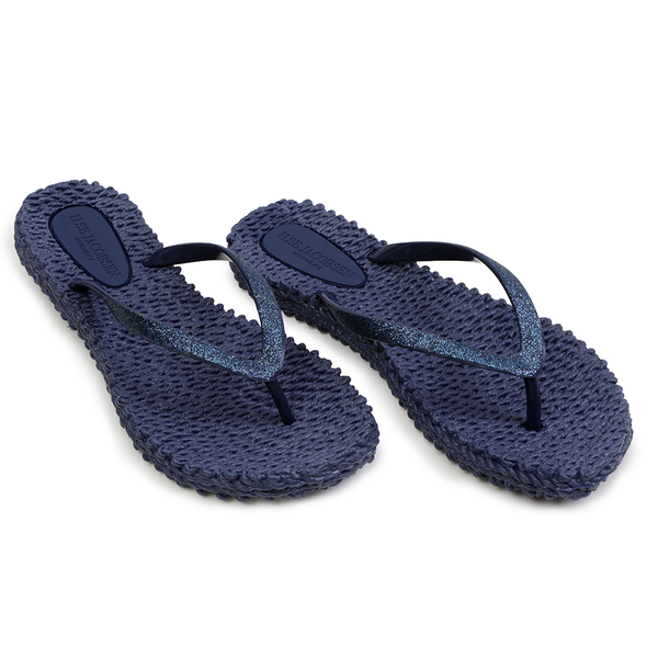 Glitter Flip Flop Cheerful - Indigo