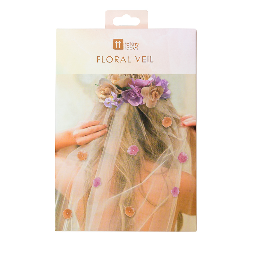 Blossom Girls Bride To Be Veil