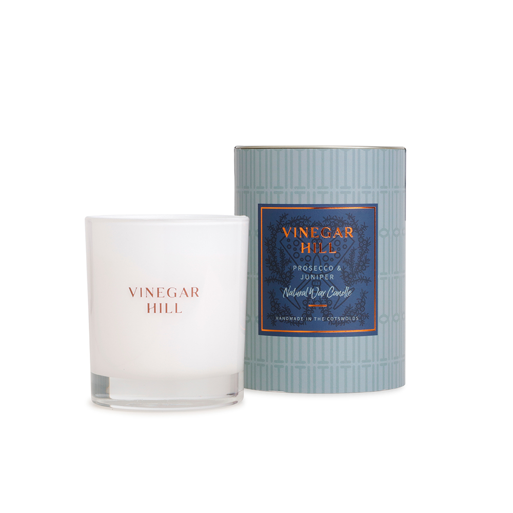 Prosecco & Juniper Natural Wax Candle