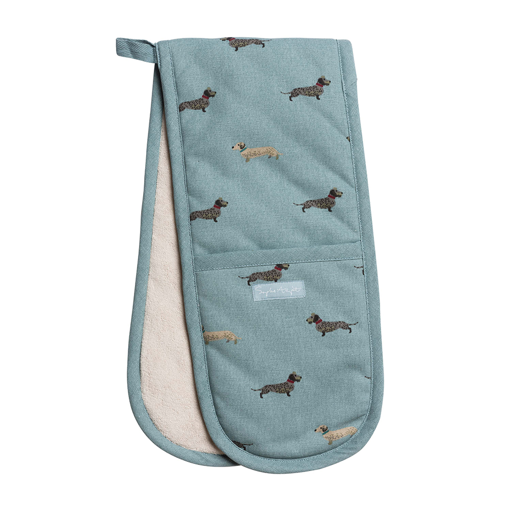 Dachshund Double Oven Glove