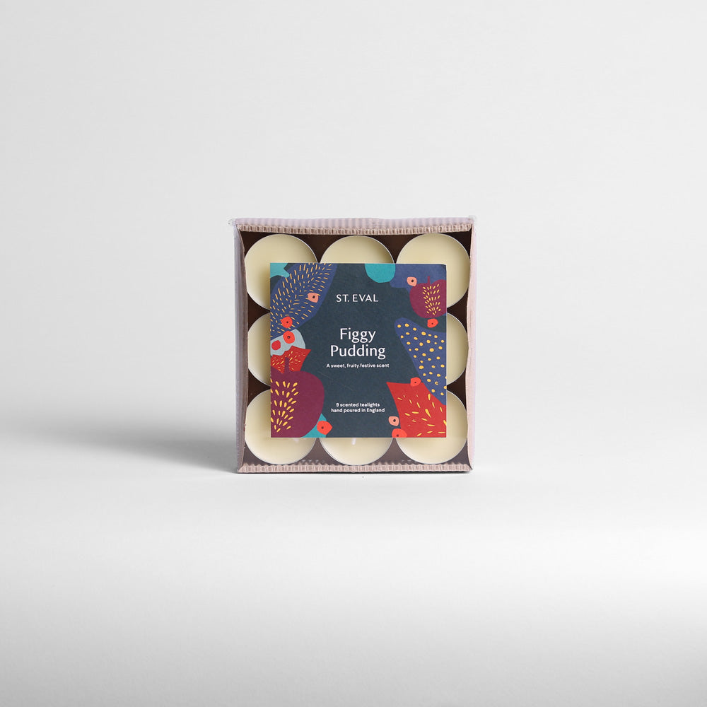 Figgy Pudding Tealights Pack