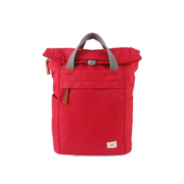 Small Roka London Finchley A Sustainable Bag in Volcanic Red