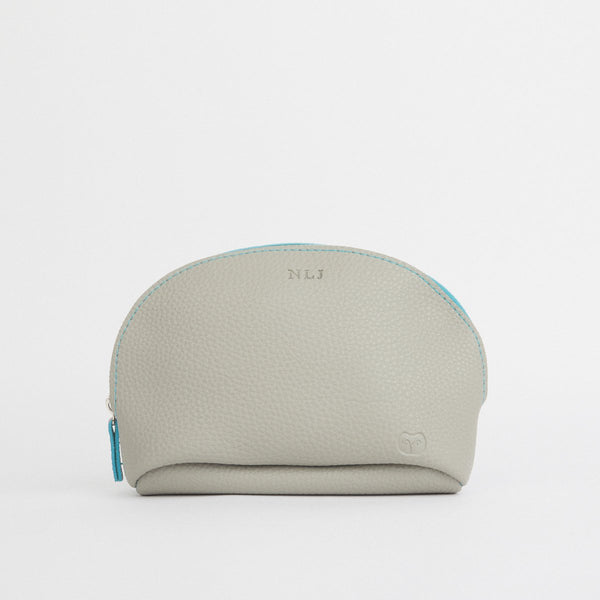 Marsh Makeup Pouch in Light Blue