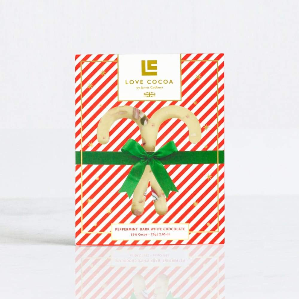 Peppermint Xmas White Choc Bar