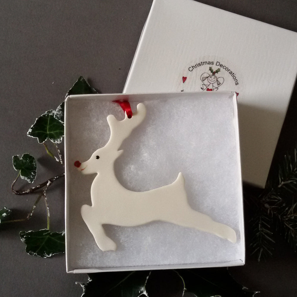 Running Rudolph Decoration
