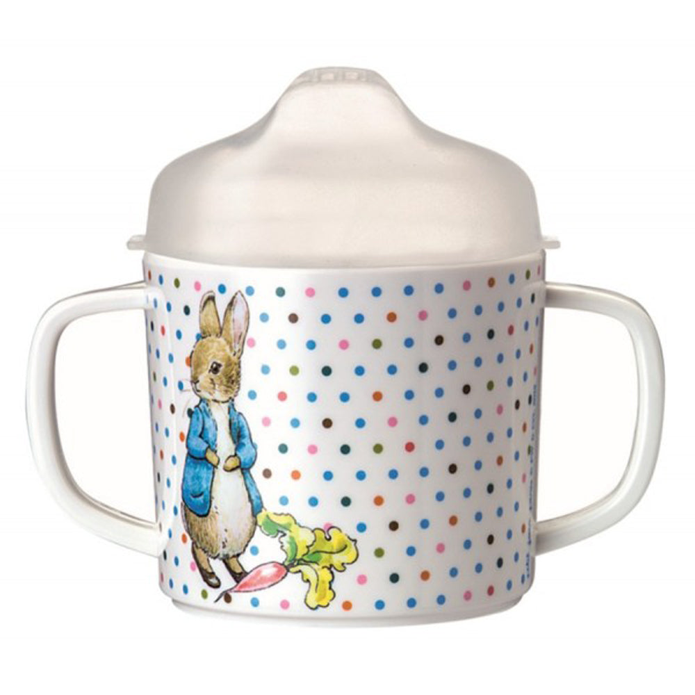 Peter Rabbit Double Handle Cup