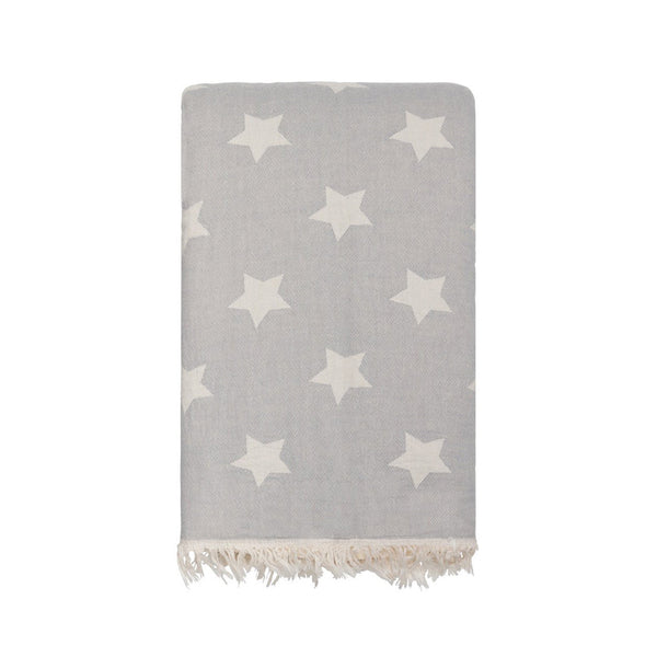Star Throw - Grey