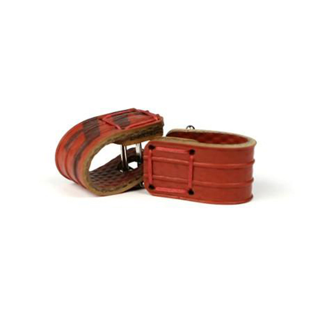 Elvis & Kresse Wrap Around Cufflinks - Red