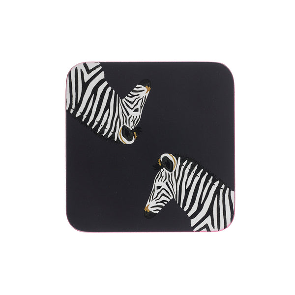 Sophie Allport Zebra Set of 4 Coasters