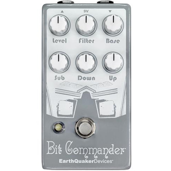 Earthquaker Devices Bit Commander Analogue Octave Synth Pedal Guitar Effects