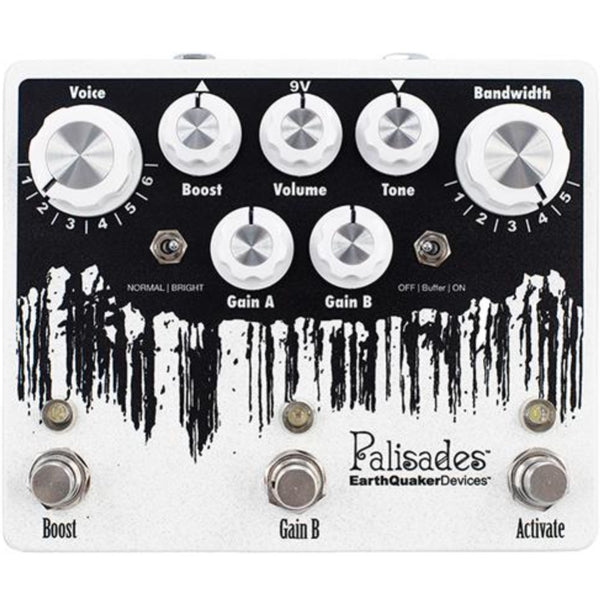 Earthquaker Devices Palisades Overdrive Pedal Guitar Effects