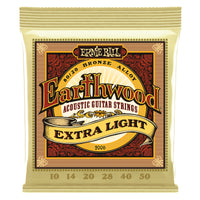 Ernie Ball Earthwood 80/20 Bronze Acoustic Guitar Strings 10 to 50 Extra Light