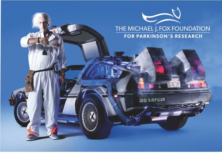 Delorean DMC12 Michael J Fox Foundation Jigsaw Puzzle