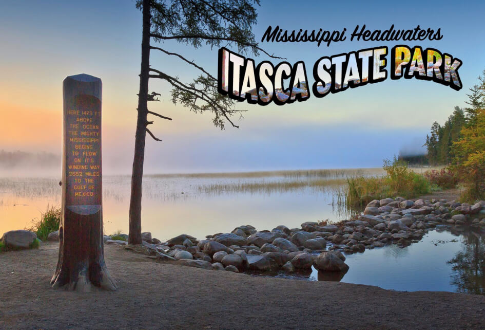 Itasca State Park MicroPuzzle Lake Marker puzzle jigsaw mini micro