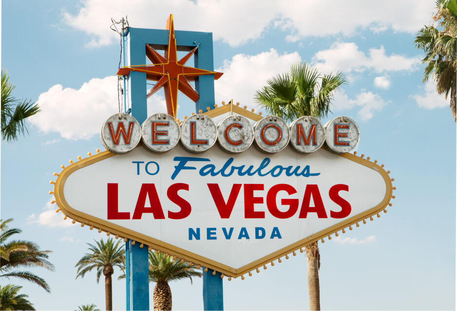 Welcome to Las Vegas iconic sign neon nevada jigsaw puzzle tiny micro jigsaw