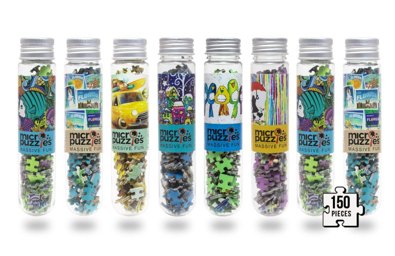 test tube mini jigsaw puzzles micropuzzles