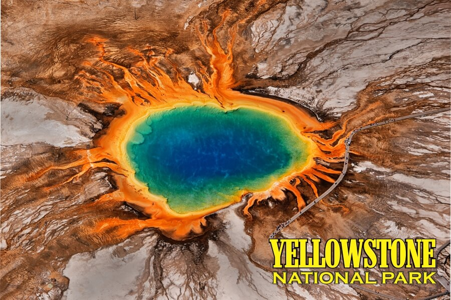 Yellowstone National Park Puzzle Jigsaw MicroPuzzle Mini Micro