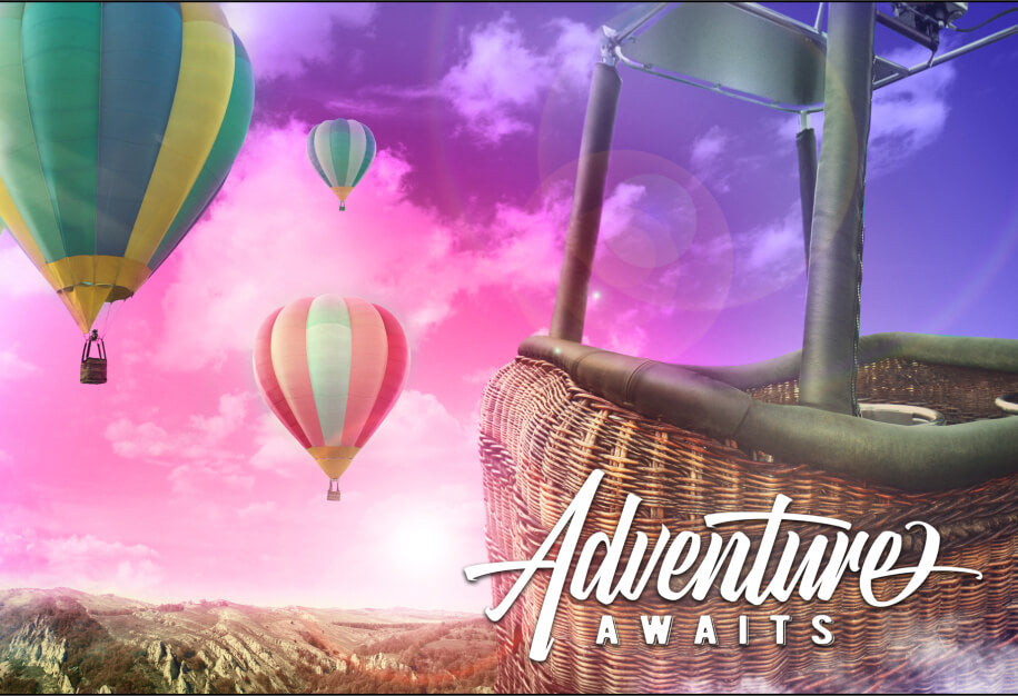 balloon adventure jigsaw puzzle MicroPuzzle micro puzzle