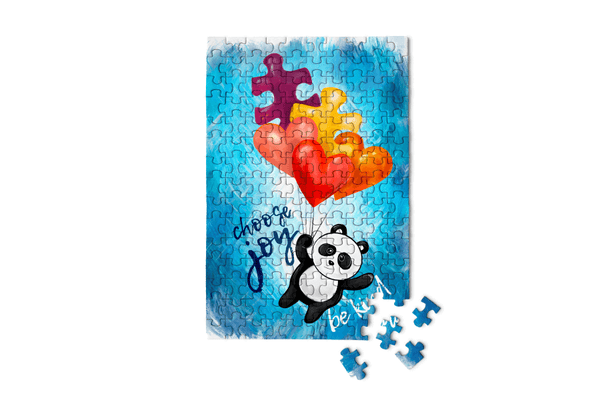 PUZZLE PANDAS - Choose Joy