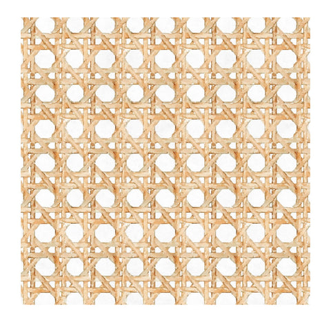 Wicker White Charger/Placemat- Set of 24