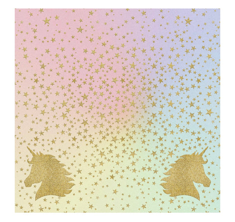 Unicorn Sparkle Charger/Placemats l- Set of 24
