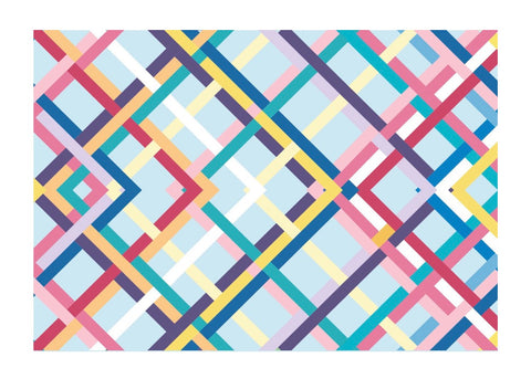 Elizabeth Sutton Colorful Reflections Placemat- Set of 30
