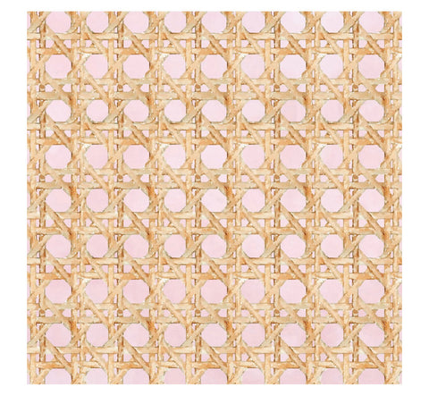 Wicker Pink Charger/Placemat- Set of 24