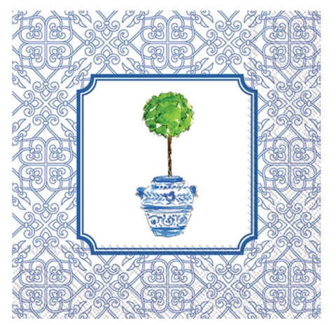 Topiary Lunch Napkins