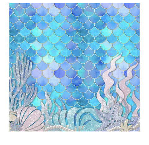 Mermaid Glitz Charger/Placemat- Set of 24