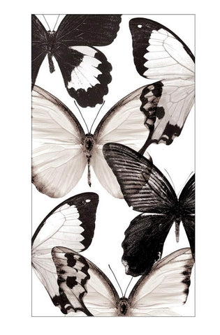 Butterfly Guest Towel Napkins- Set of 16
