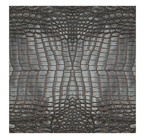 Charcoal Croc Charger/ Placemat- Set of 24