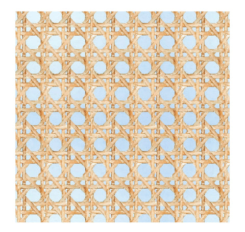 Wicker Blue Charger/Placemat- Set of 24