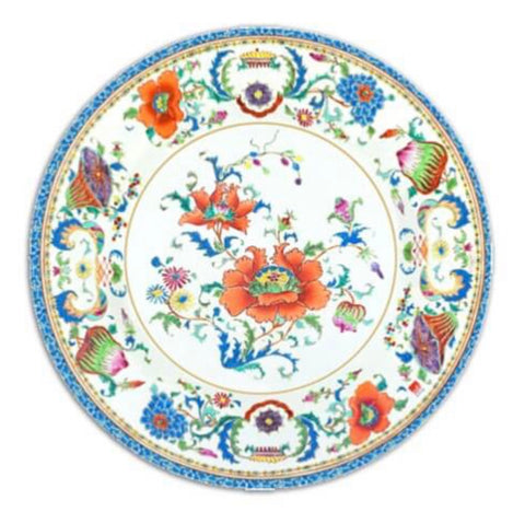 Majolica Salad/Dessert Plates- Set of 8
