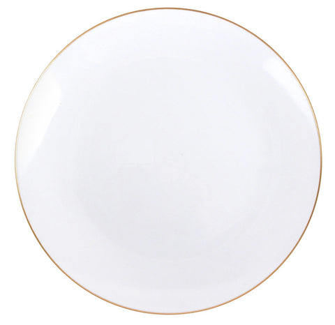 Classic Gold Dinner Plates- Set of 10