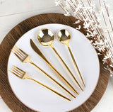 Novelty Cutlery Combo Gold- Service for 8
