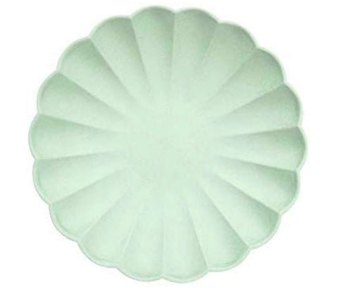 Mint Eco Salad/Dessert Plates- Set of 8