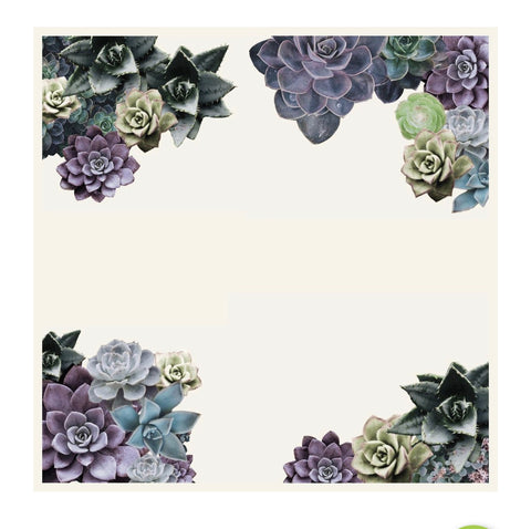 Dessert Bloom Paper Charger/ Placemats- Set of 30