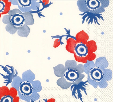 Anemone Lunch Napkin- Set of 16