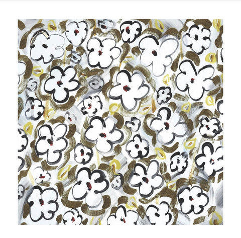 Floral Graffiti Paper Charger/ Placemat- Set of 30